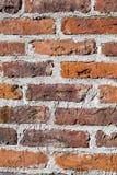 被风化的砖石墙 免版税库存图片