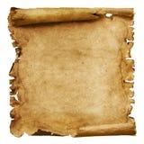 被风化的纸滚动 库存图片
