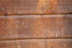 被风化的老生锈的金属纹理 库存照片