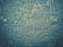 被风化的蓝色难看的东西背景纹理 免版税库存图片