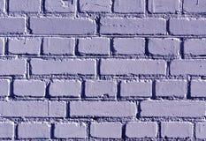 被风化的蓝色颜色砖墙样式 库存图片