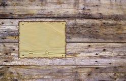 被风化的被烧的纸板条 库存照片