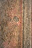 被风化的谷仓墙壁木五谷板条红色结 免版税图库摄影