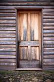 被风化的门 免版税图库摄影