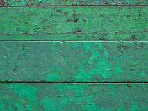 被风化的绿色纹理背景 免版税库存照片