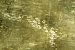 被风化的黄色cament墙壁表面 免版税图库摄影