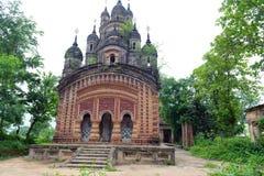 被破坏的印度寺庙 免版税图库摄影
