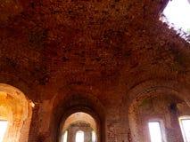 被破坏的寺庙 图库摄影