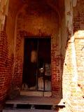 被破坏的寺庙 免版税库存照片