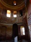 被破坏的寺庙 库存图片