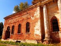 被破坏的寺庙 免版税库存图片