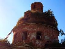 被破坏的寺庙 免版税图库摄影