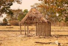 被破坏的小屋 库存图片