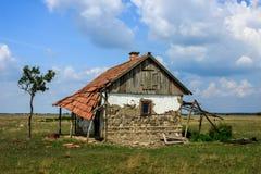 被破坏的房子 图库摄影