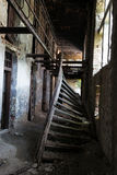 被破坏的监狱 库存图片