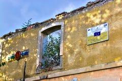 被破坏的罗马公共 免版税图库摄影