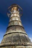 被破坏的遗弃灯塔, Whiteford沙子,高尔半岛,如此 库存图片
