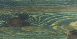 被绘木的绿色纹理 免版税库存照片