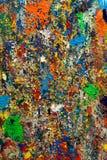 被绘的五颜六色的摘要 免版税库存照片