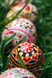 被绘的复活节彩蛋15 免版税库存照片
