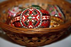 被绘的复活节彩蛋14 免版税库存图片