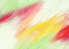 被绘的抽象丙烯酸酯的背景 库存图片