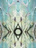 被绘的抽象五颜六色 免版税库存图片