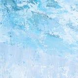 被绘的抽象背景蓝色 免版税库存照片
