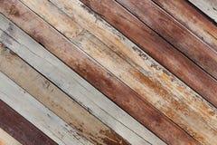 被绘的木板条背景 库存照片
