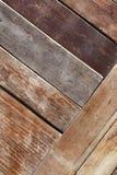 被绘的木板条背景 免版税库存照片