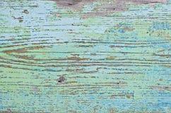 被绘的木板的纹理 图库摄影
