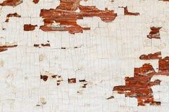 被绘的木表面有白色老年迈的纹理背景 各种各样的设计的葡萄酒背景 免版税库存照片