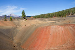 被绘的沙丘 免版税库存照片