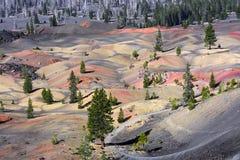 被绘的沙丘 库存图片