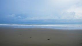 被绘的海滩 库存照片