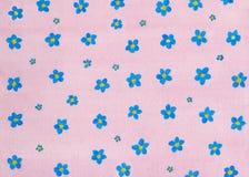 被绘的花卉背景 库存图片