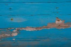 被绘的被风化的木头 免版税库存图片