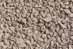 被击碎的石头 免版税图库摄影