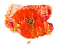被击碎的蕃茄 免版税图库摄影