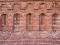被仿造的砖墙 免版税图库摄影