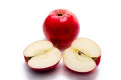 裁减苹果 图库摄影