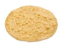 裁减路线炸玉米粉圆饼 免版税库存照片