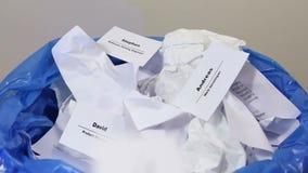 裁员概念-切口职员和雇员工作减少 解雇 影视素材