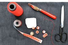 裁缝元素 库存图片