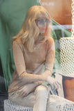 裁缝的假的时装模特 图库摄影