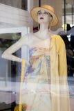 裁缝的假的时装模特 库存图片