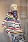 裁缝的假的时装模特 免版税库存图片