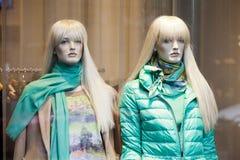 裁缝的假的时装模特 免版税库存照片
