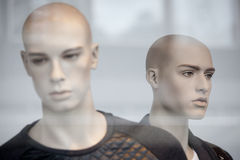 裁缝的假的时装模特 免版税图库摄影