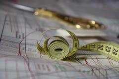裁缝的辅助部件 免版税图库摄影